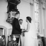 Ehegelübde Kirche Hochzeitsfotograf