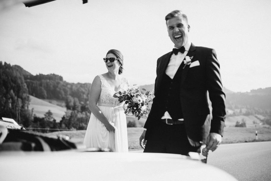 Die Hochzeit von N&S im Appenzell