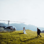 Helikopterflug Hochzeit