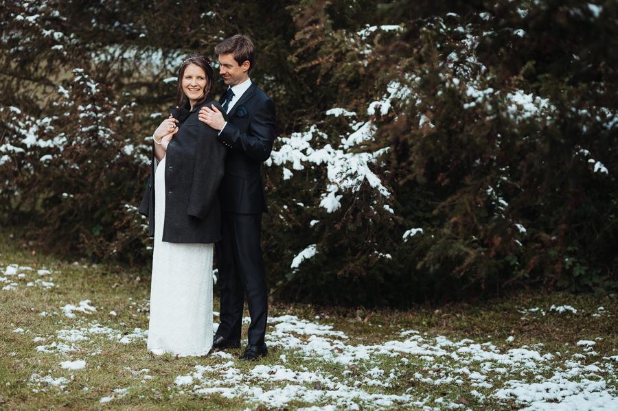 Brautpaar Fotoshooting Hochzeit