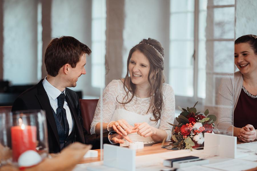 Hochzeit in Gfenn trotz Corona