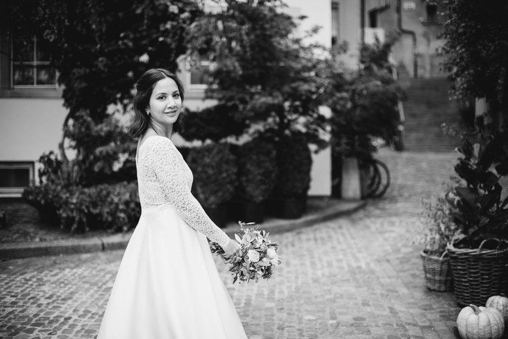 Braut Fotos bei Hochzeit